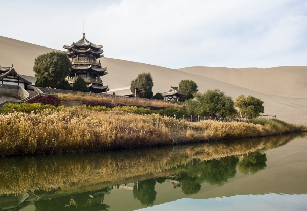Mondsichelsee, Dunhuang, China