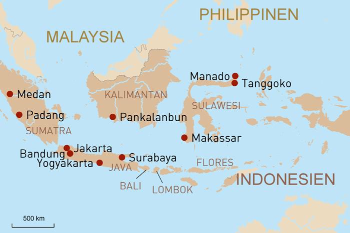 Exklusive Kreuzfahrten Indonesien Flores Lombok Bali