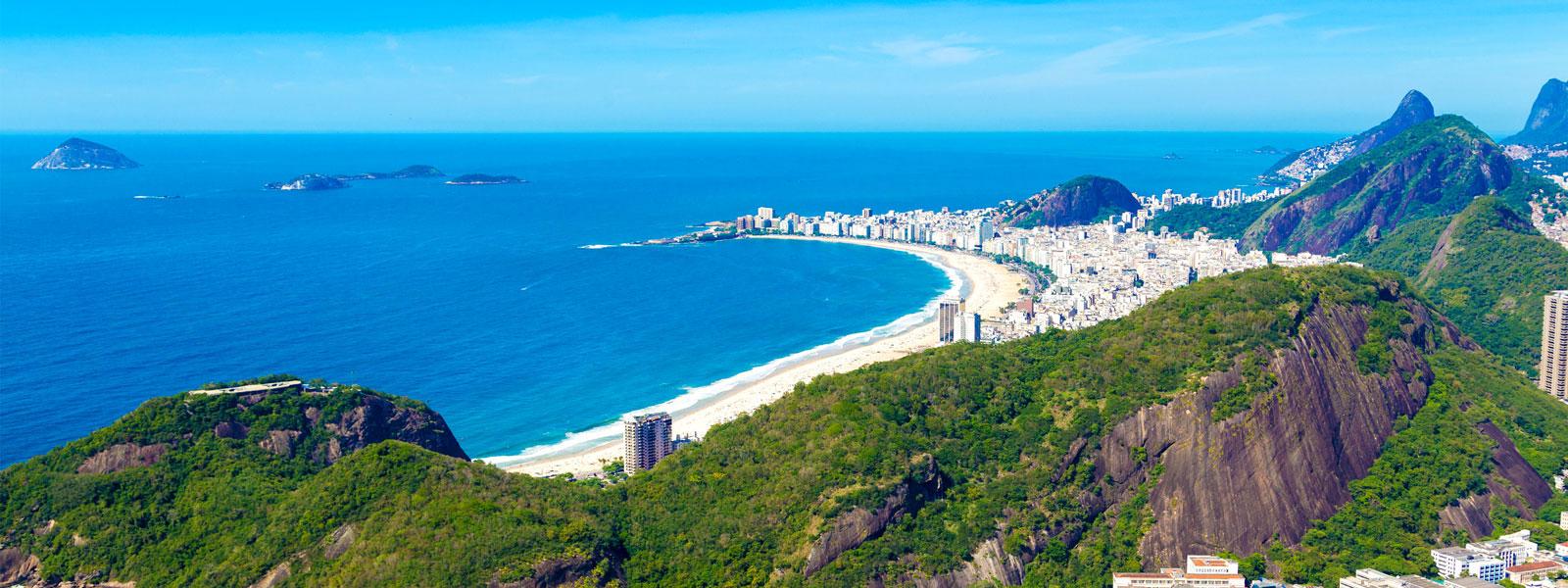 Brasiliens Strände Botagogo, Copacabana und Ipanema