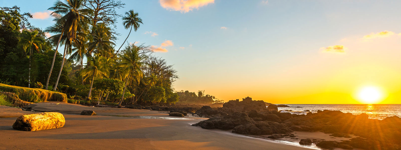 Costa Rica, Strand im Corcovado-Nationalpark
