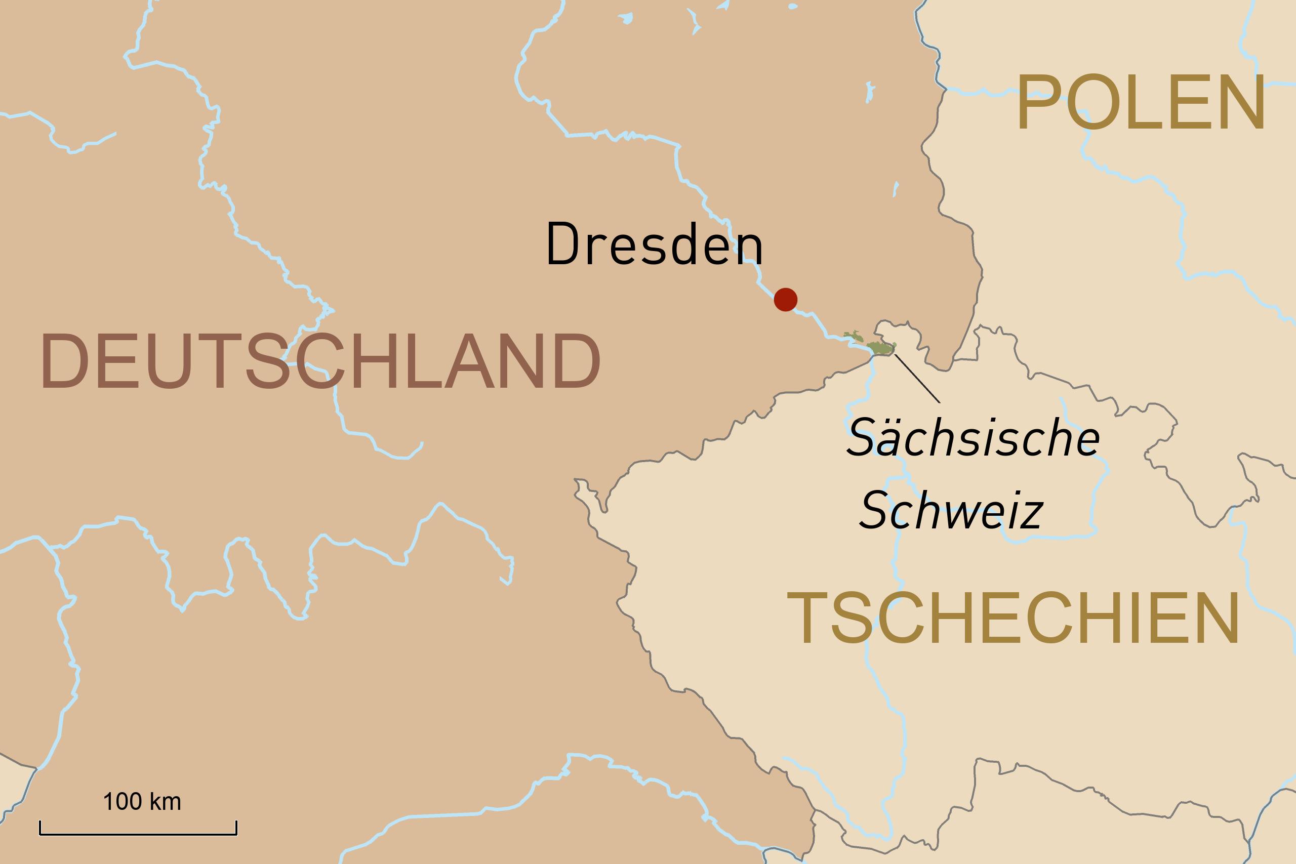 Entdeckungen in der Residenzstadt Dresden und aktiv durch die Sächsische Schweiz