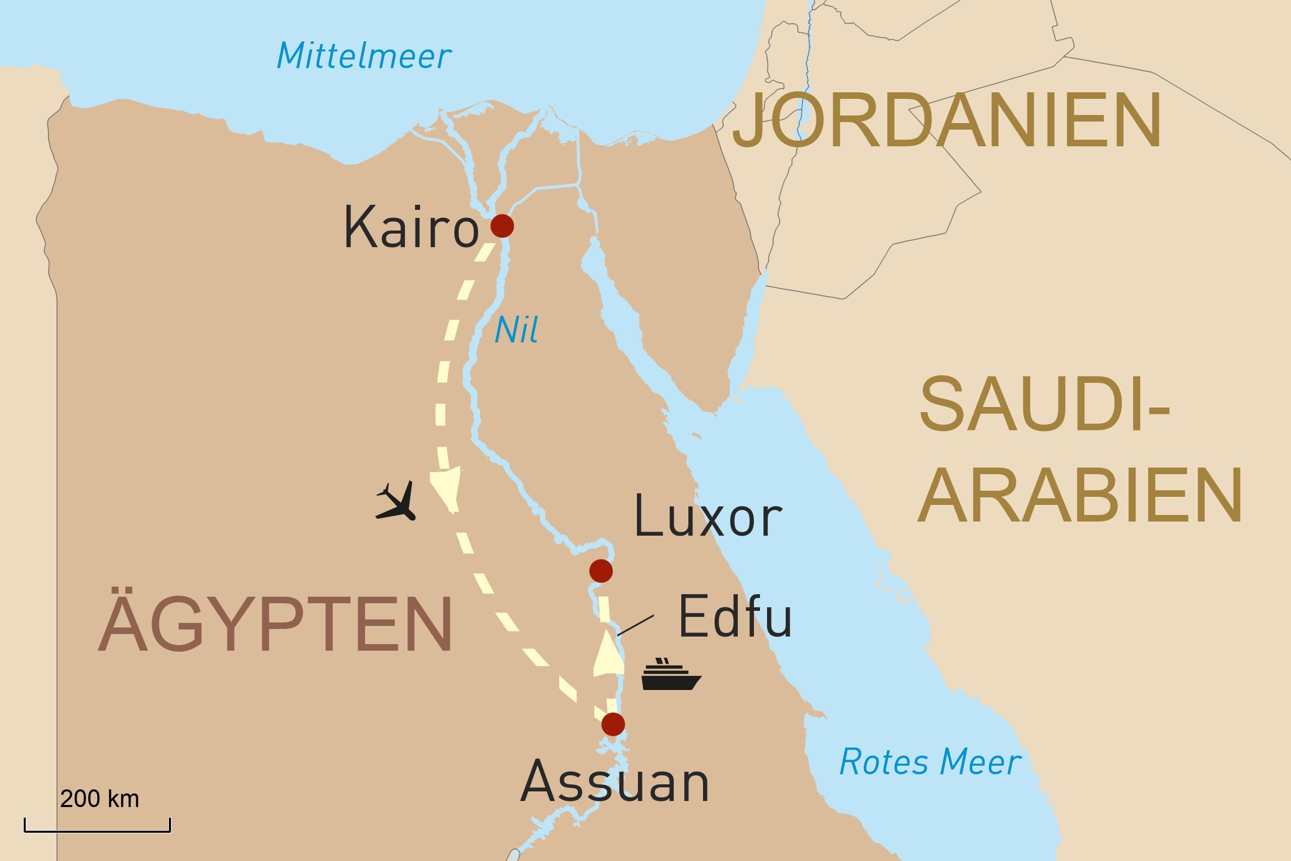 Schätze Ägyptens und Erholung am roten Meer
