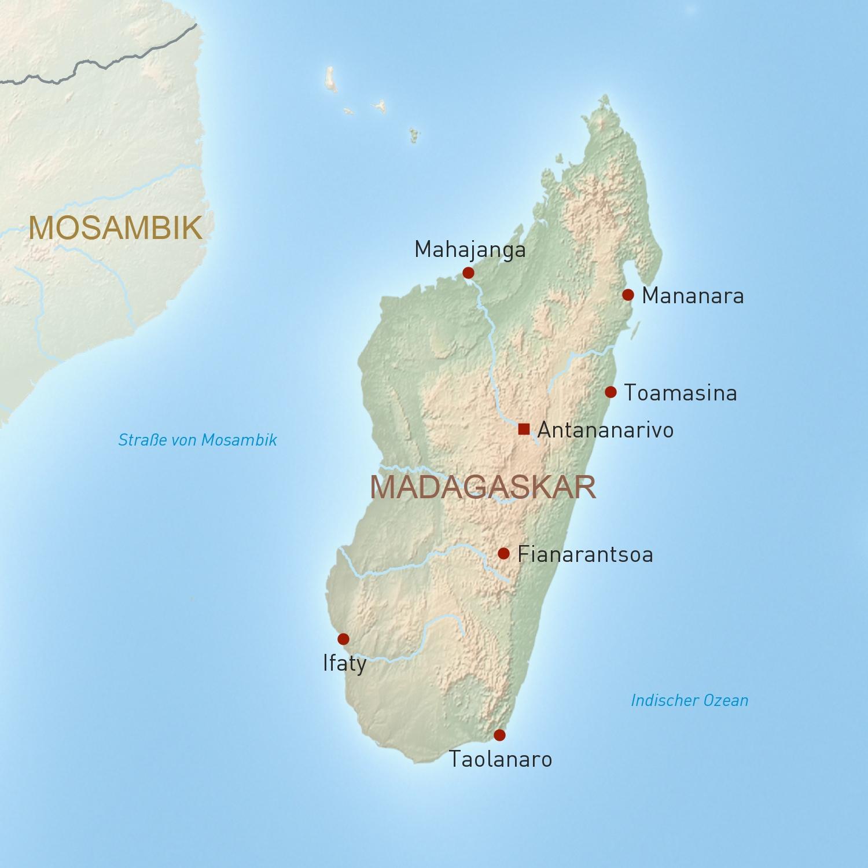 Madagaskar Reisen Individuell Geoplan Privatreisen