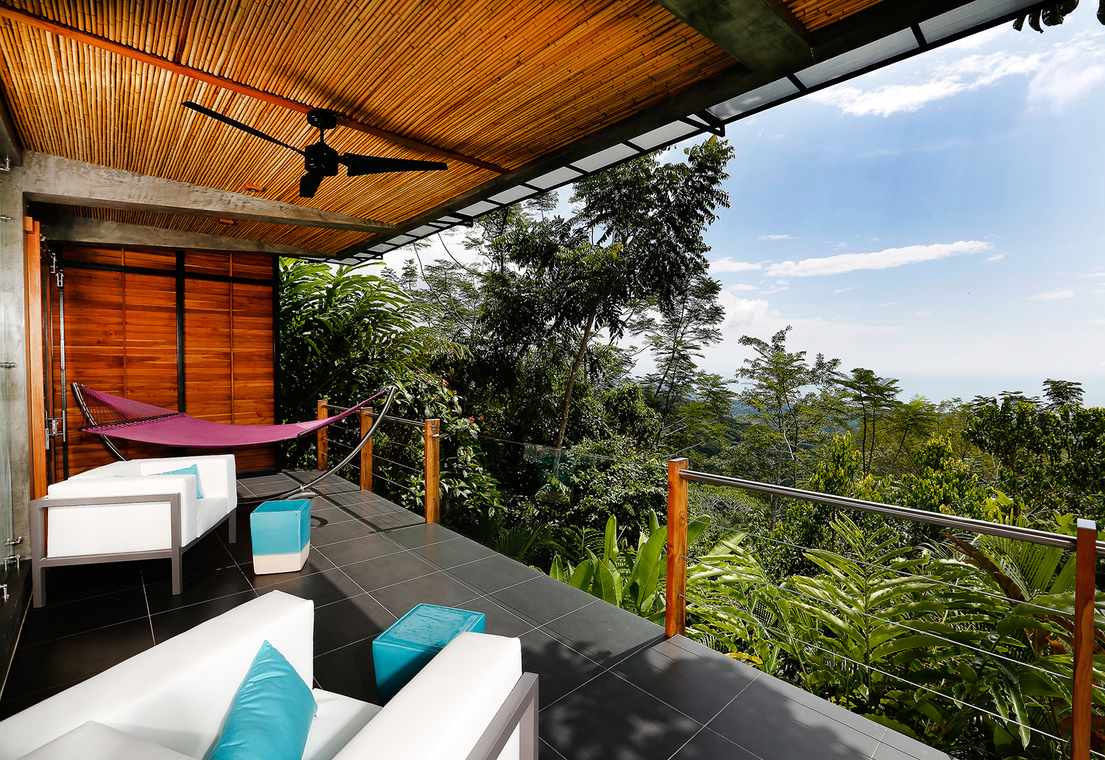 Balkon Kura Design Boutique Hotel, Costa Rica