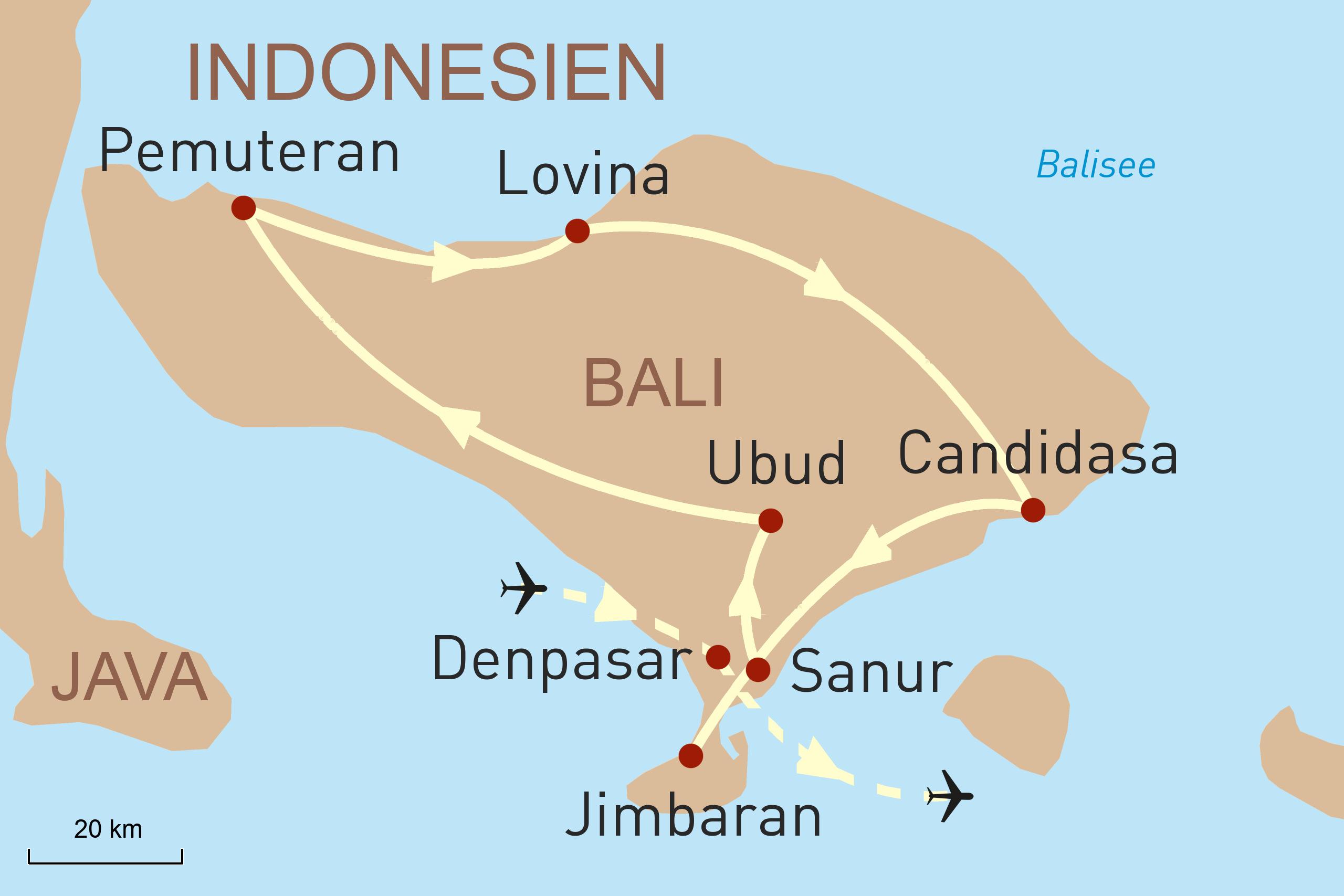 Balis Schönheiten