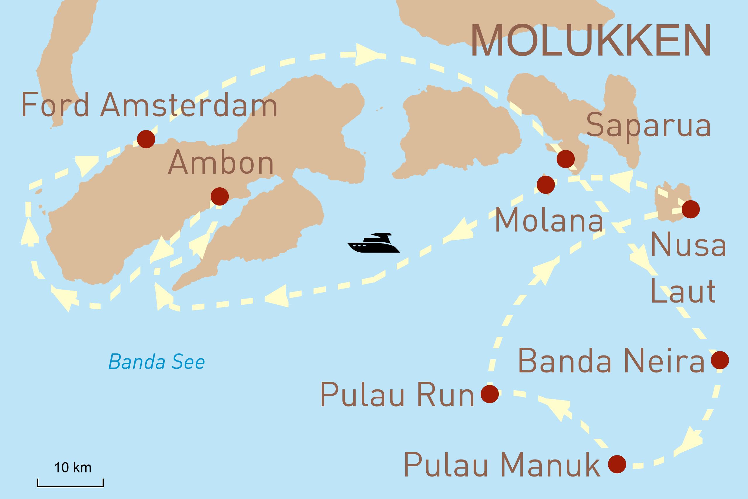 Indonesien Reise Mit der Aqua Blu zu den Gewürzinseln
