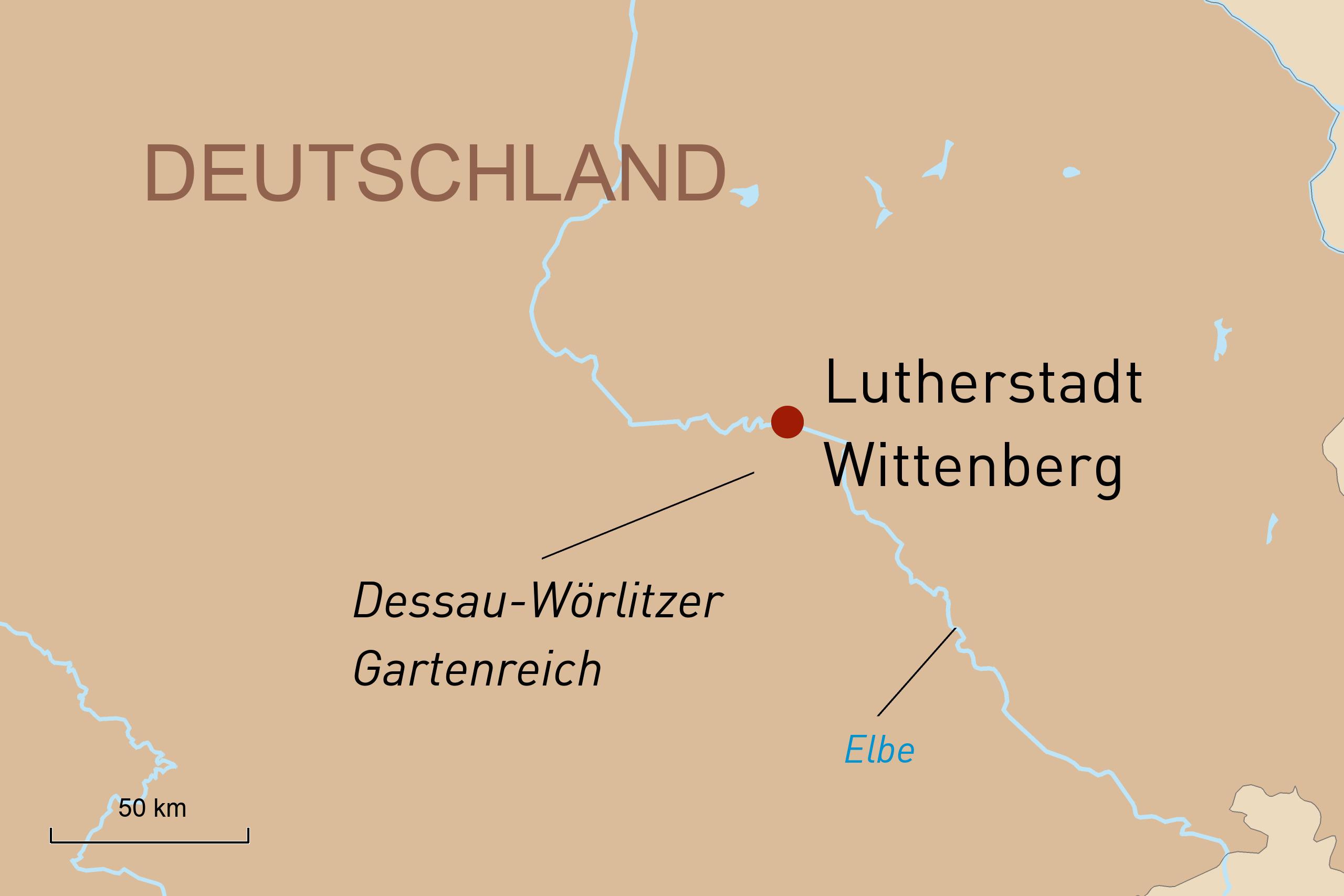 Reise in die Lutherstadt Wittenberg - mit Geoplan Privatreisen