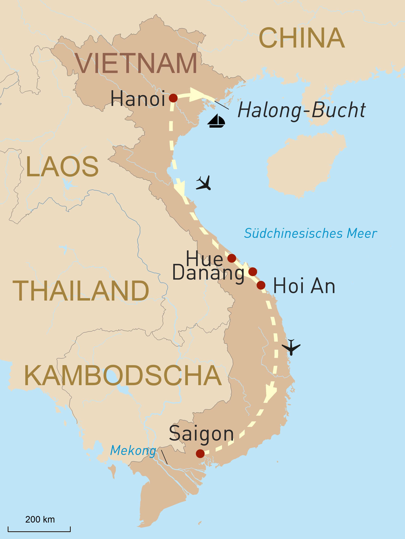Kulturelle Hühepunkte Vietnams