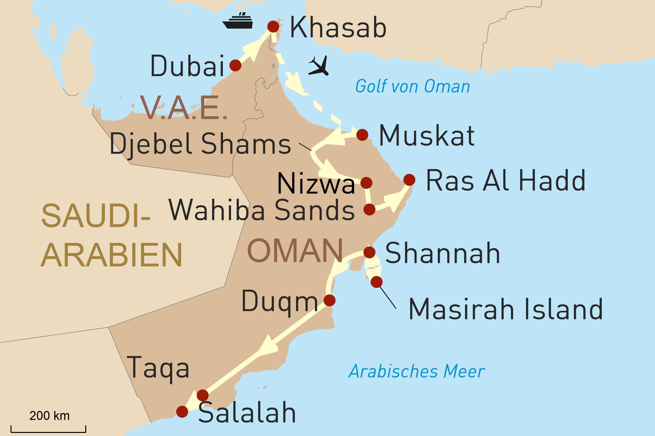 Oman Intensiv – durch das Landesinnere bis nach Salalah