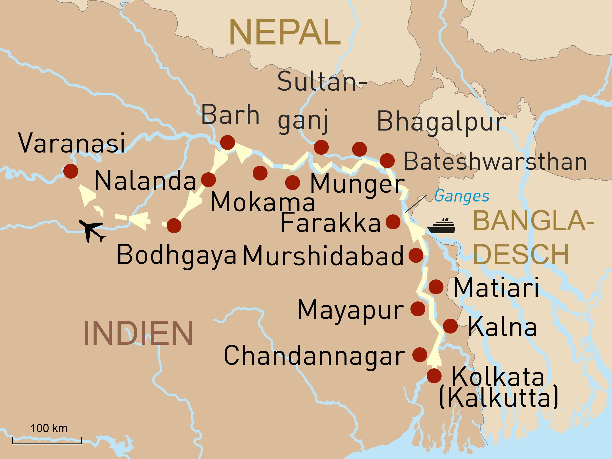 Mythos Ganges - Entdecken auf dem Heiligen Fluss