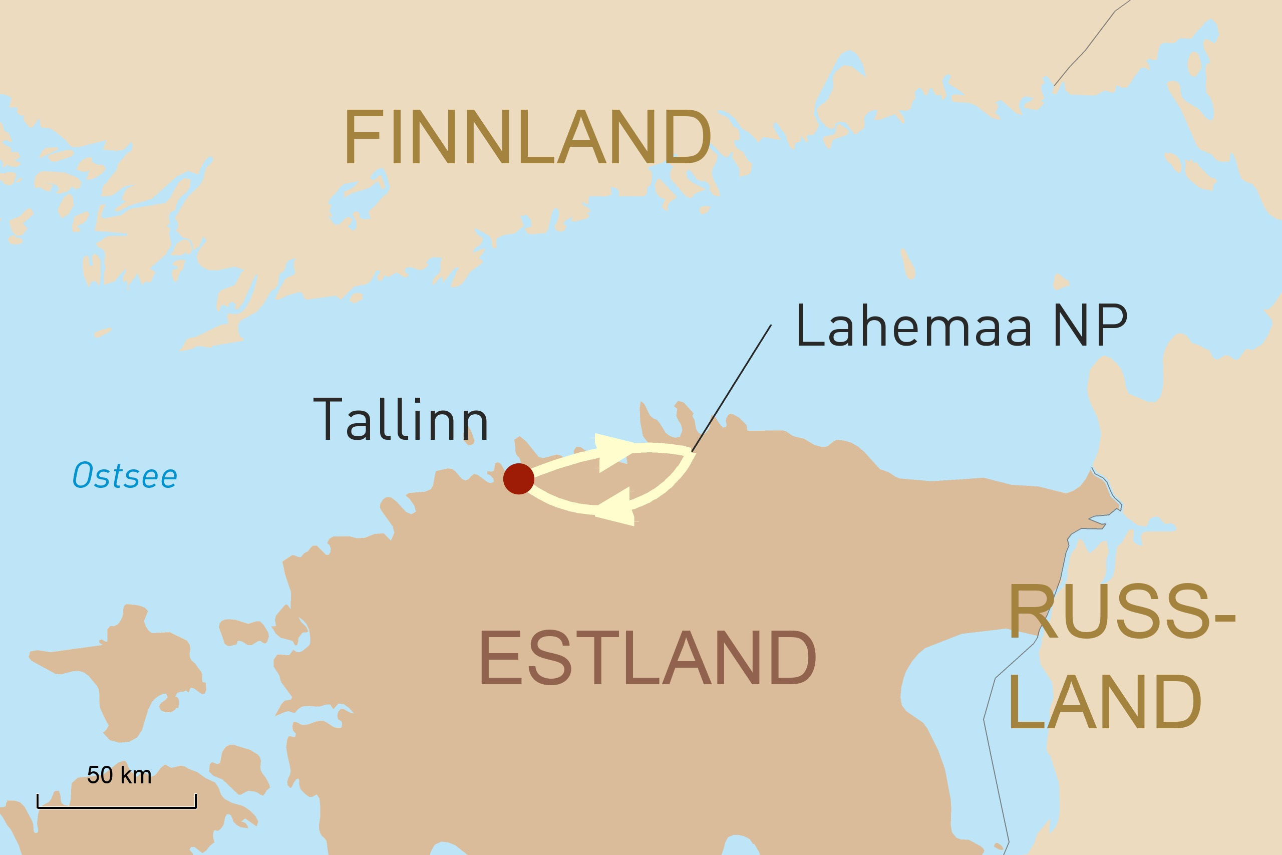 3 perfekte Tage-in-Estland