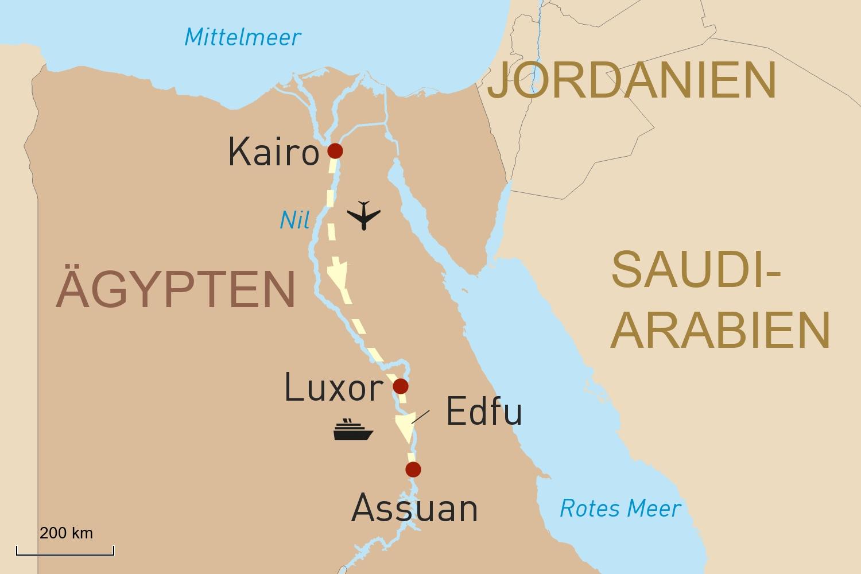 Schätze Ägyptens & Erholung am Roten Meer