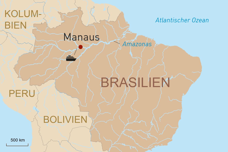 Flusskreuzfahrt auf dem Amazonas mit der Amazon Clipper Premium