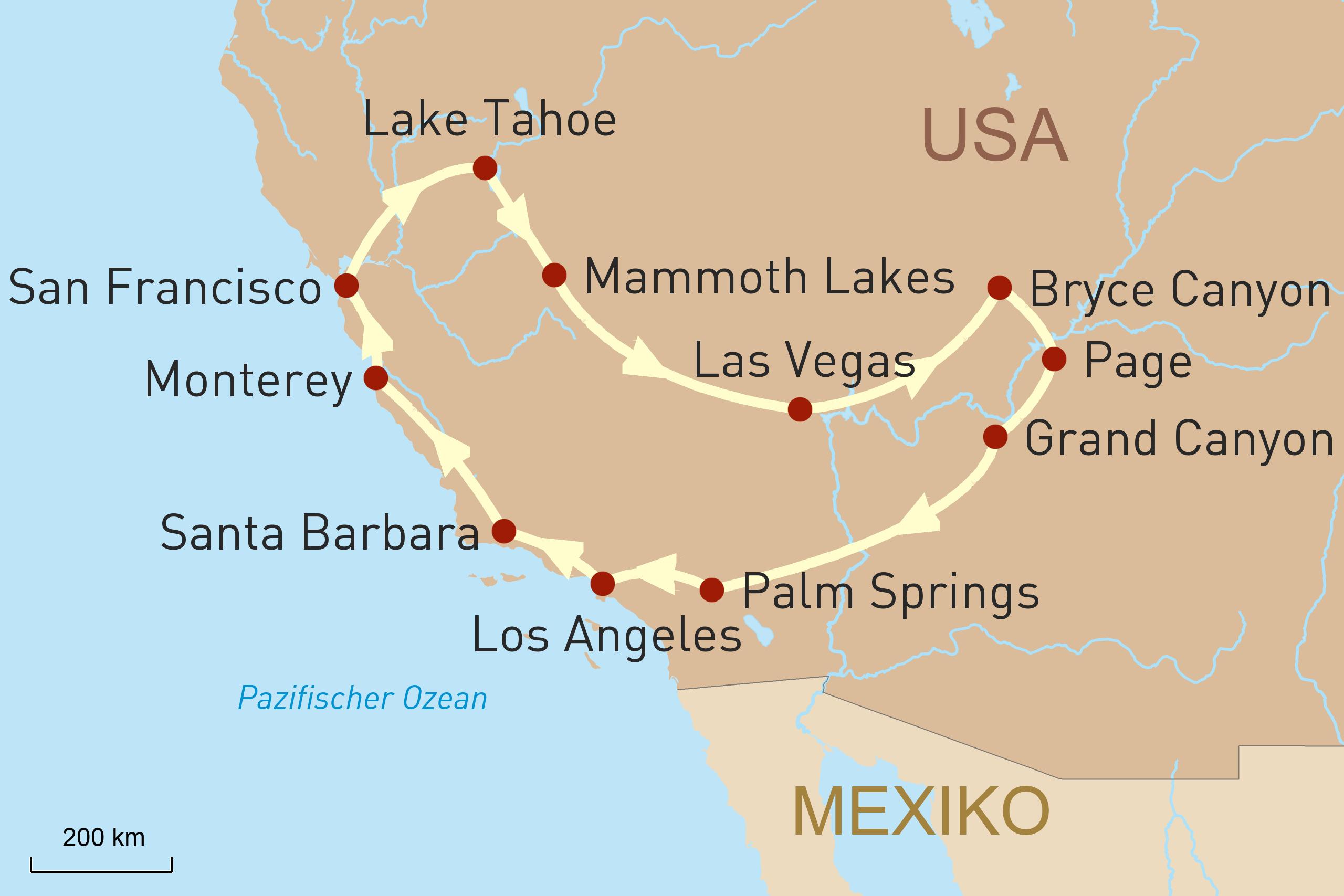 Amerikas grenzenloser Südwesten