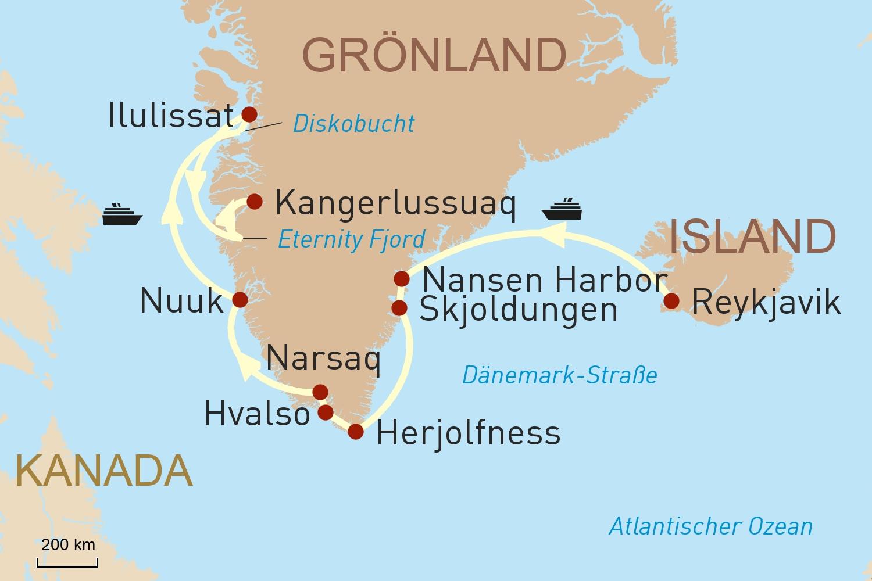 Arktis Kreuzfahrt mit Ponant: Auf in den hohen Norden!