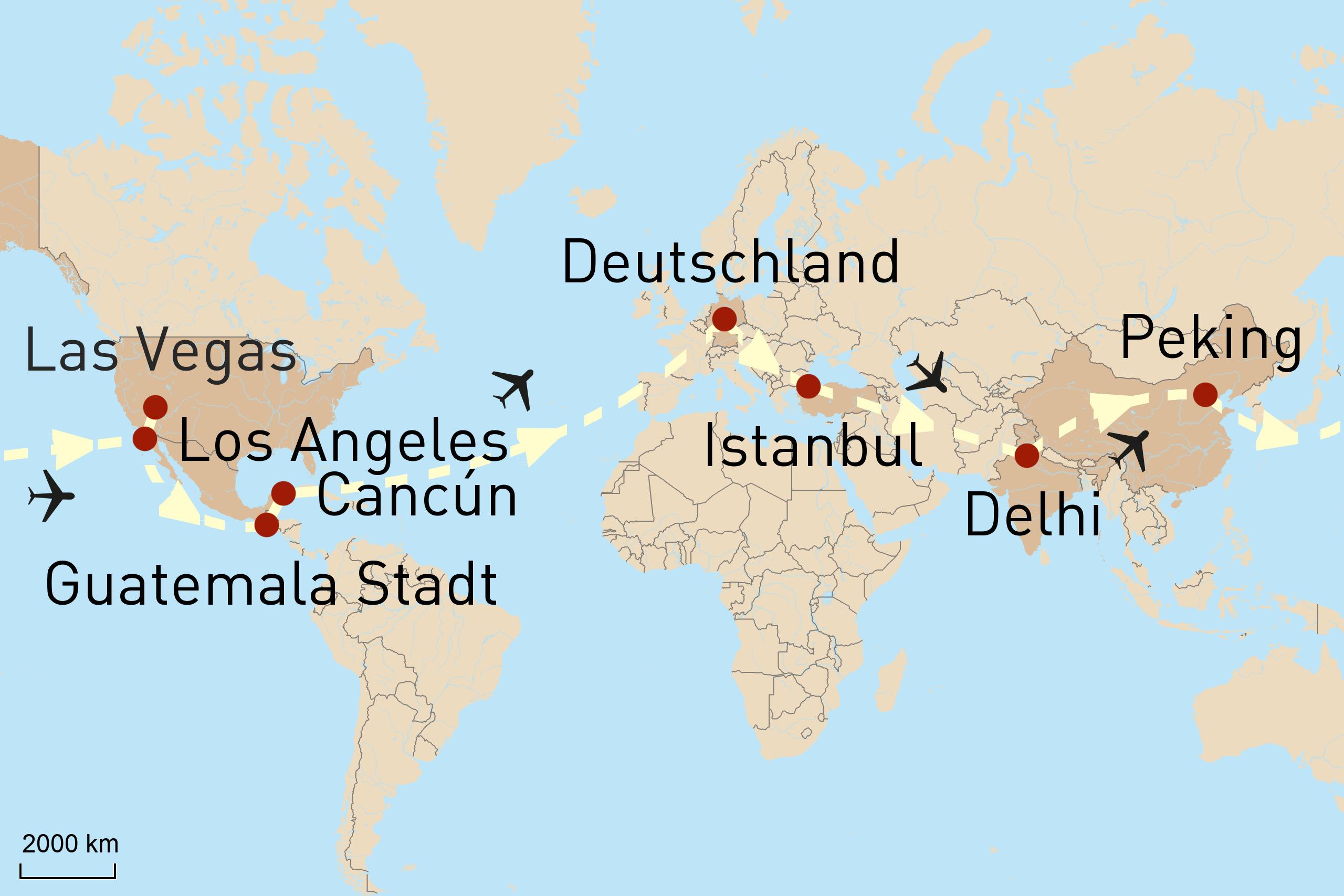 Auf den Spuren der UNESCO-Welterbestätten