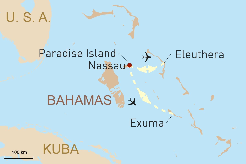 Bahamas: Traumstrände und Naturgenuss