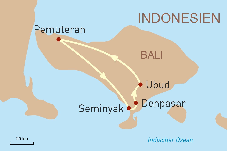 Indonesien Reise: Bali luxuriös erleben