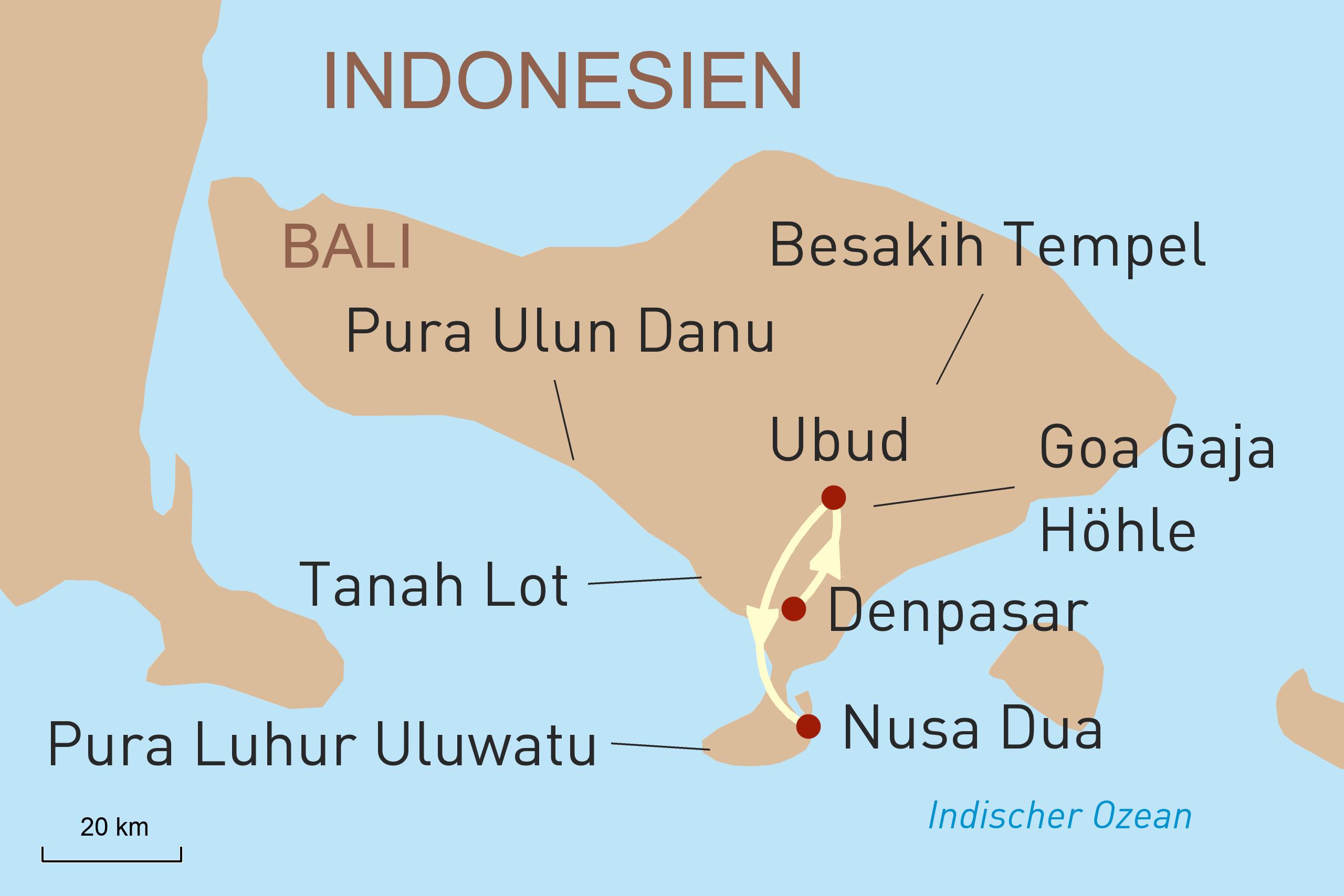 Bali luxuriös Erleben