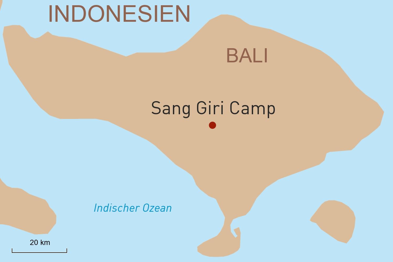 Bali: Regenwalderlebnis im luxuriösen Zeltcamp