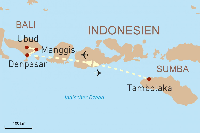 Bali und Sumba exklusiv erleben
