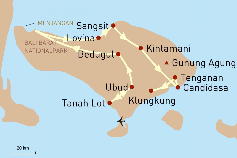 Balis Hoehepunkte
