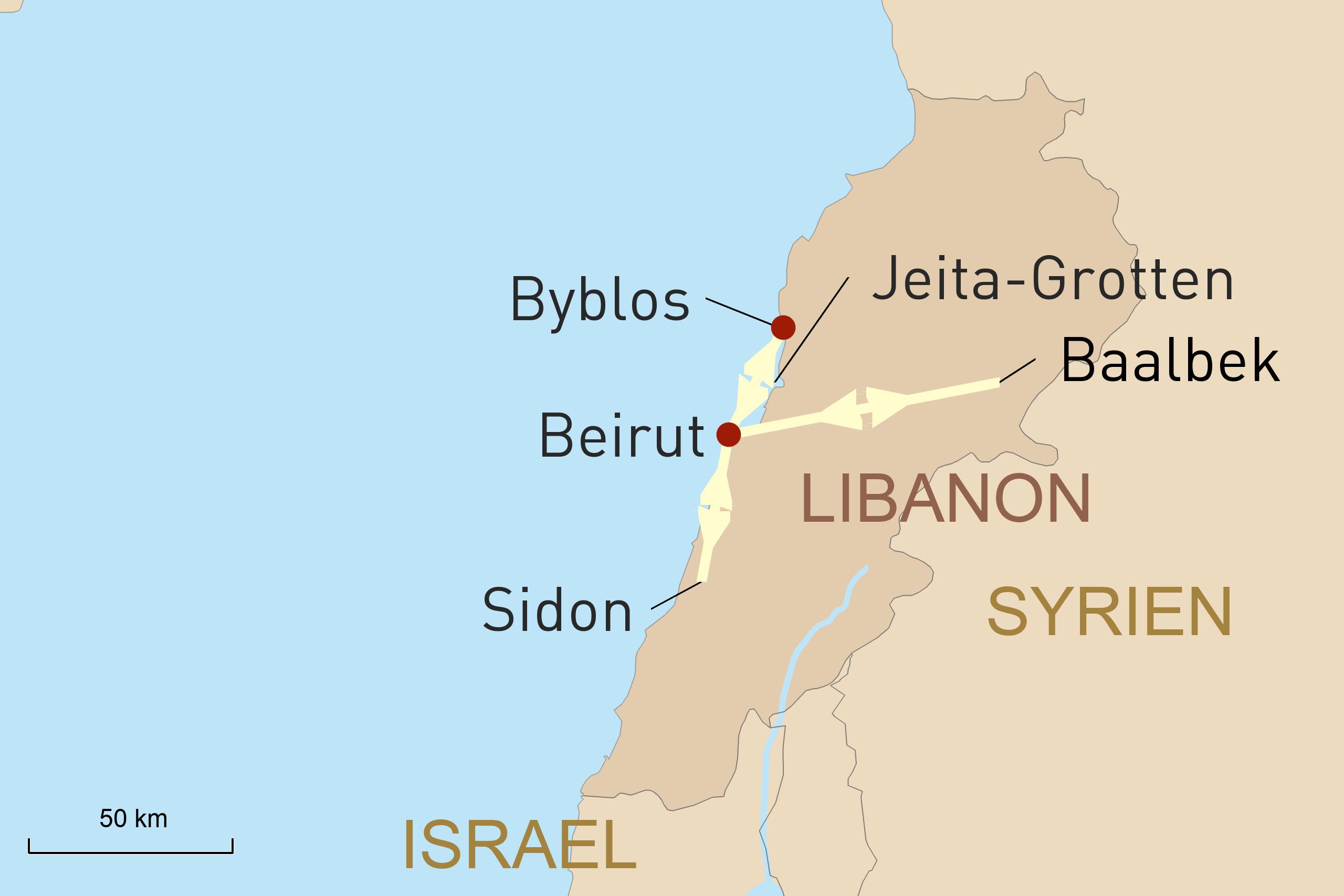 Libanons Schätze entdecken – zwischen Moderne und Antike