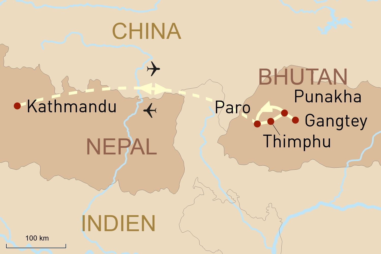 Exklusive Bhutan Rundreise Mit Geoplan Privatreisen