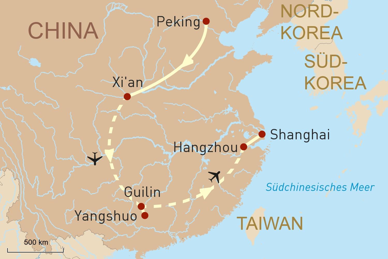 China exklusiv erleben
