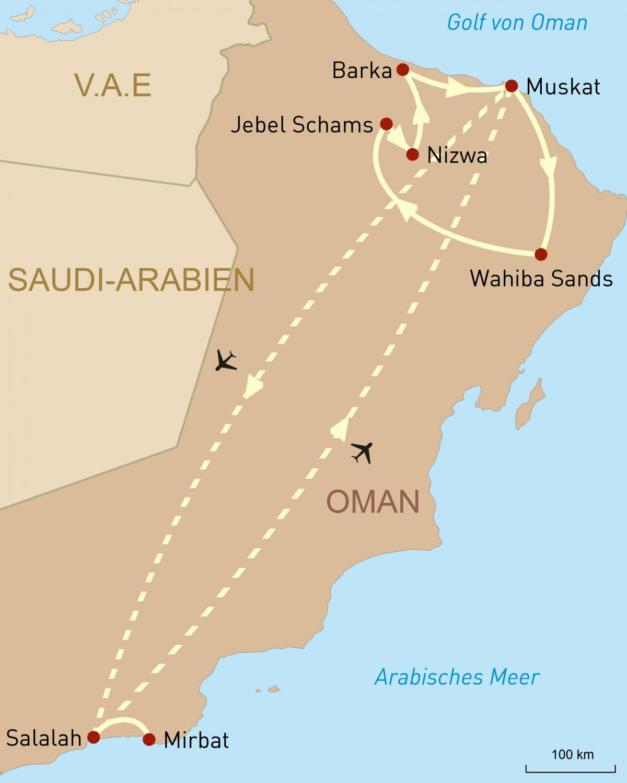 Kleingruppenreise: Die Essenz des Oman