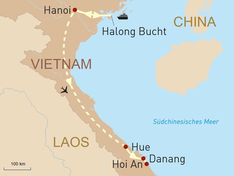 Die Halong Bucht & Zentralvietnam exklusiv erleben
