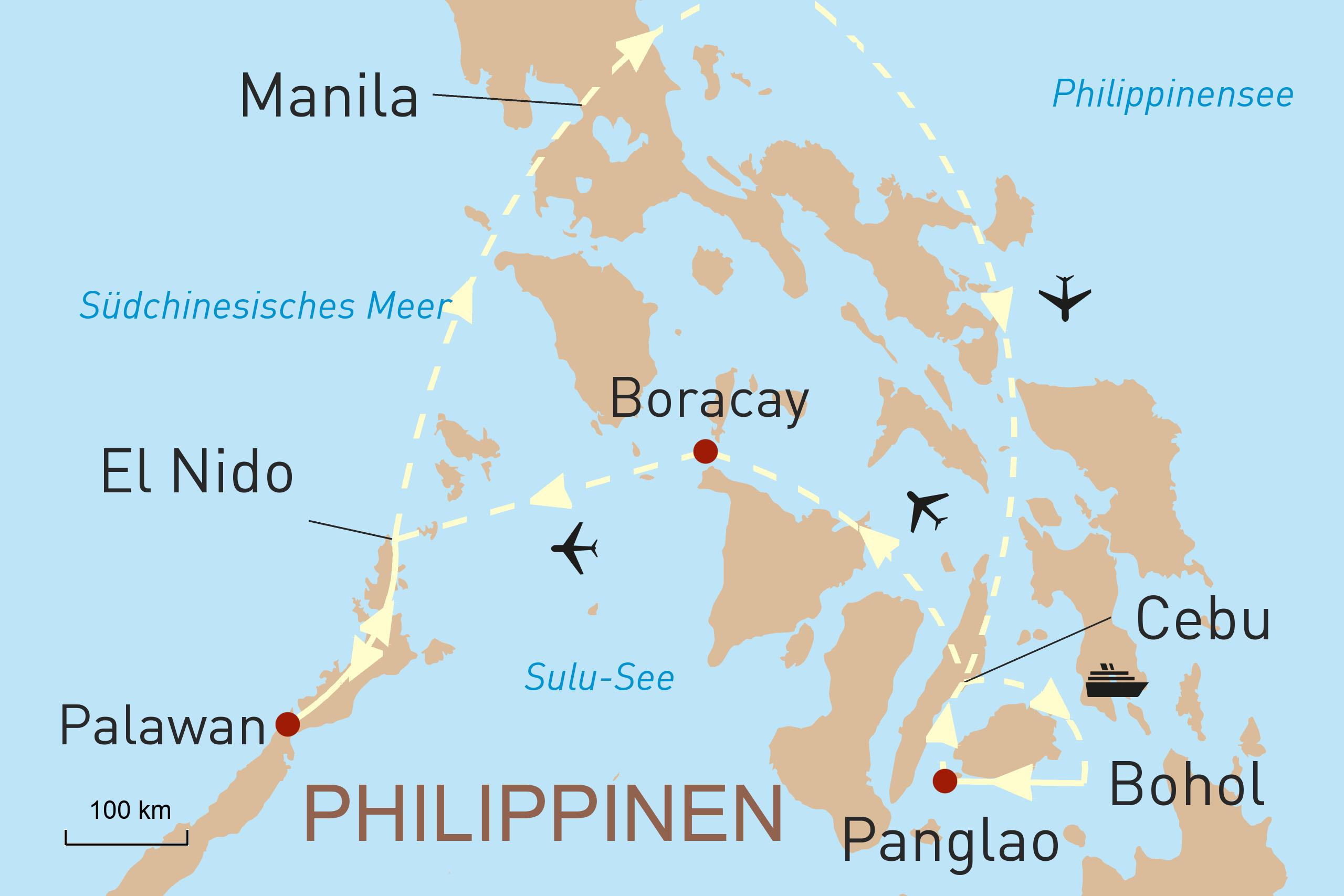 Die Inselwelt der Philippinen erleben