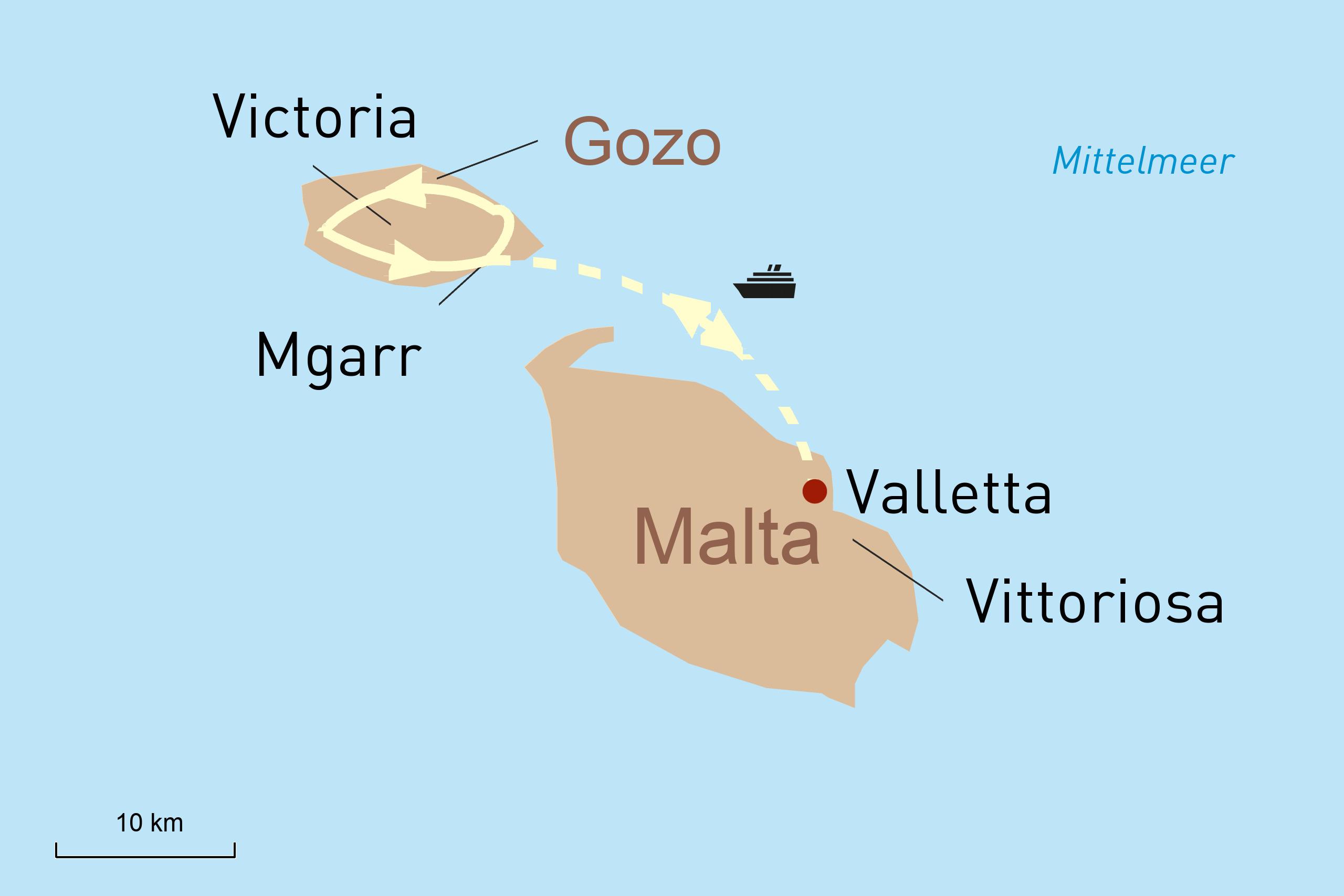 Drei Perfekte Tage auf Malta neu