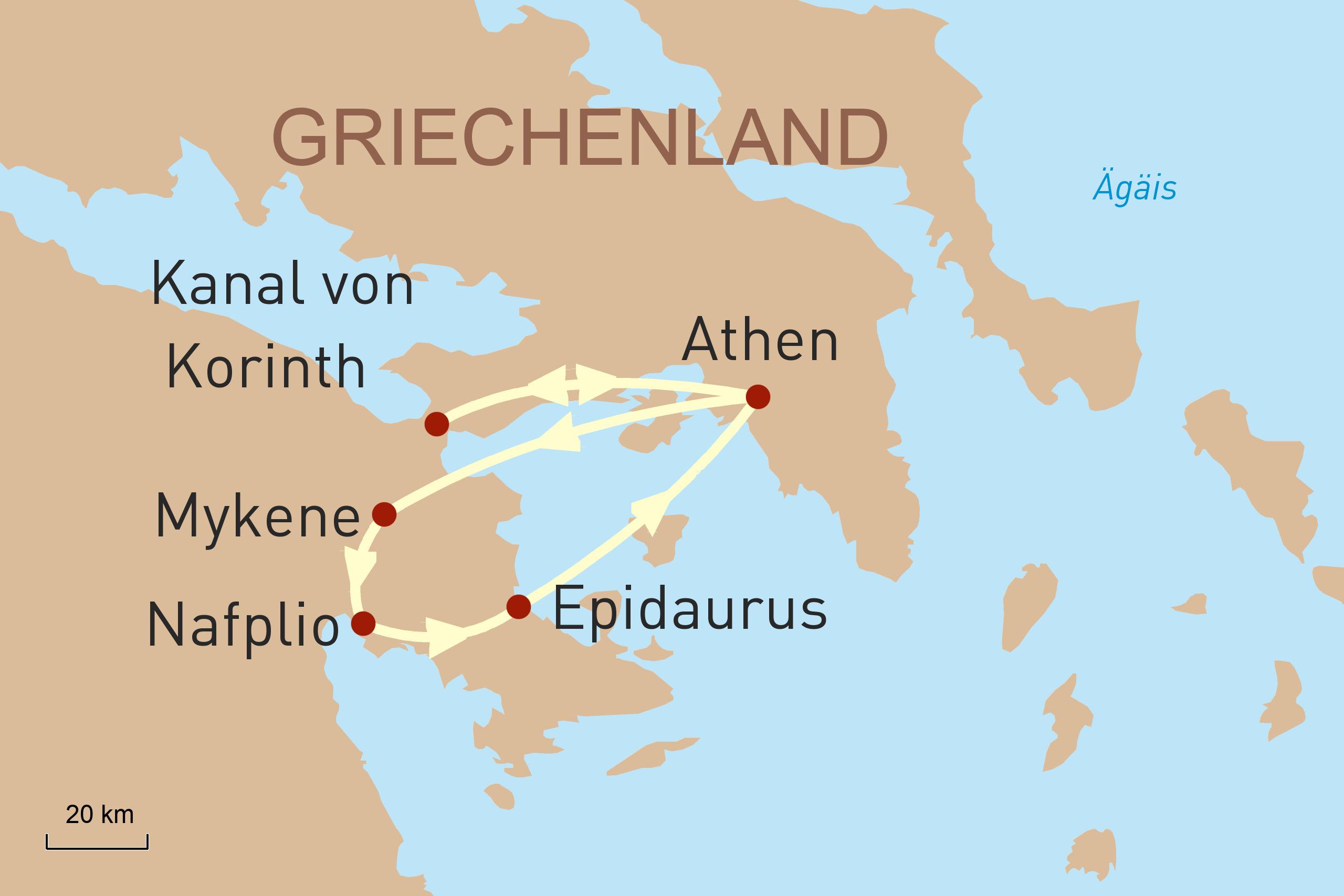 Drei perfekte Tage in Athen