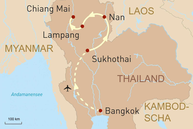 Erlebnis Nordthailand