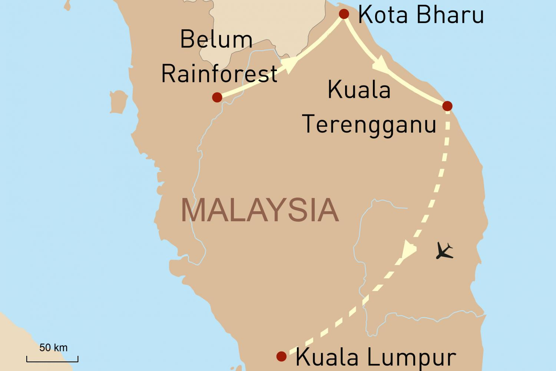 Erlebnis Ostmalaysia