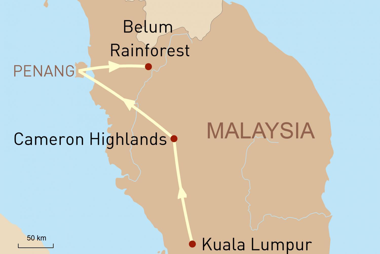 Erlebnis Westmalaysia
