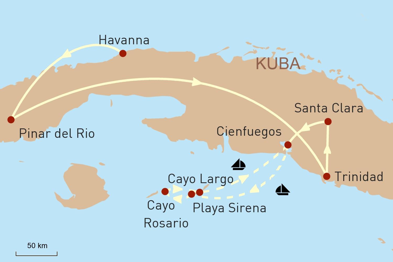 Erlebnisreise Kuba & Segeltörn Karibik