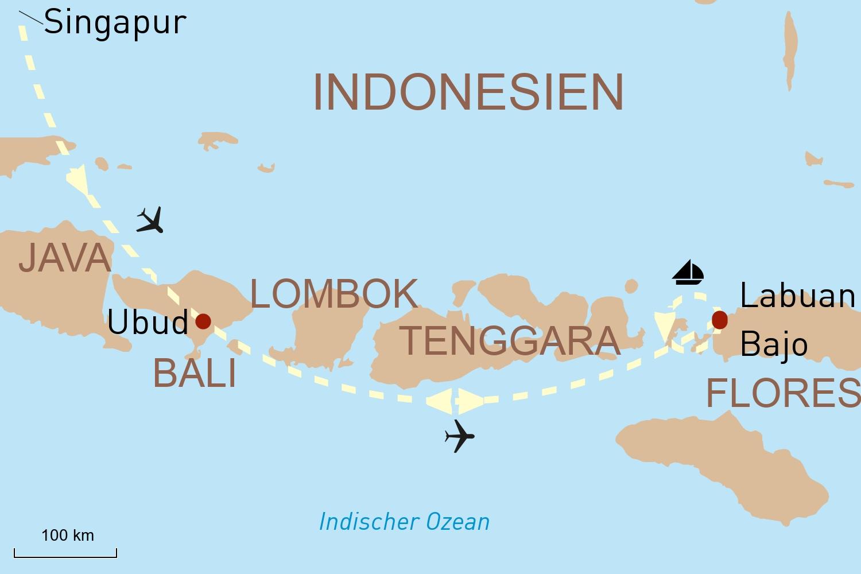Exklusive Segel-Kreuzfahrt auf der Alila Purnama & Bali nach Ihrer Façon