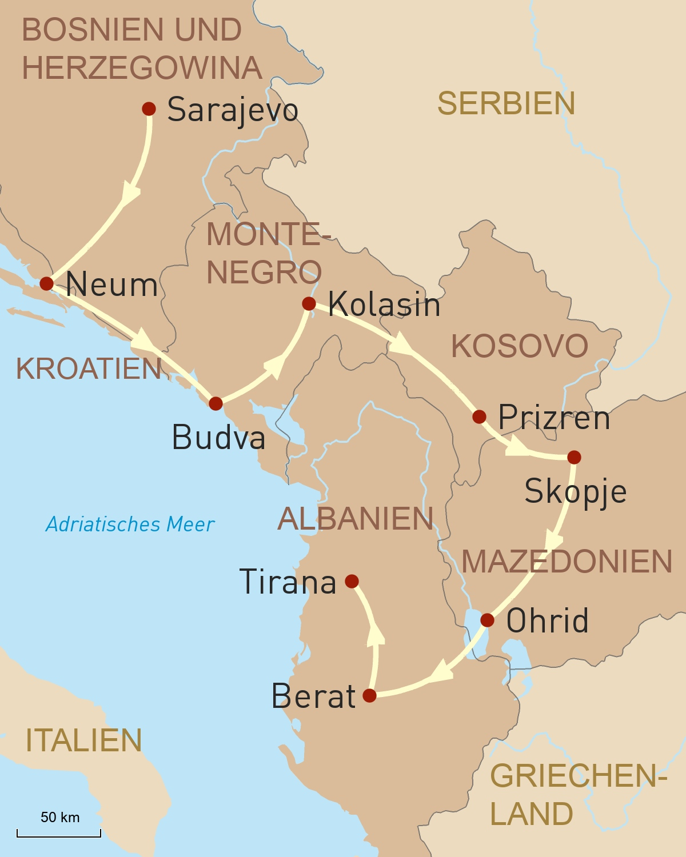 Facettenreicher Balkan