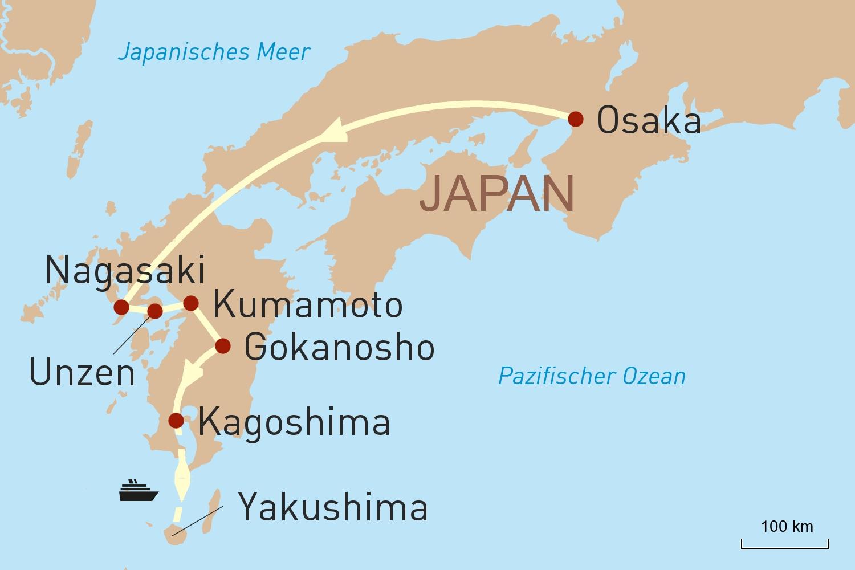 Japan Reise: Facettenreiches Kyushu - Japans grünes Paradies