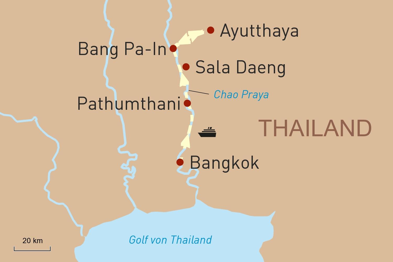Flusskreuzfahrt in Thailand: Mekhala - Legendary River Cruise