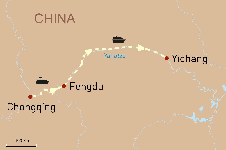 Flusskreuzfahrt China - Die drei Schluchten des Yangtze