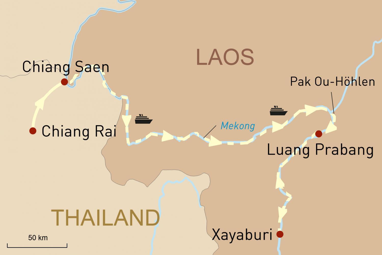 Geheimnisvolles Laos