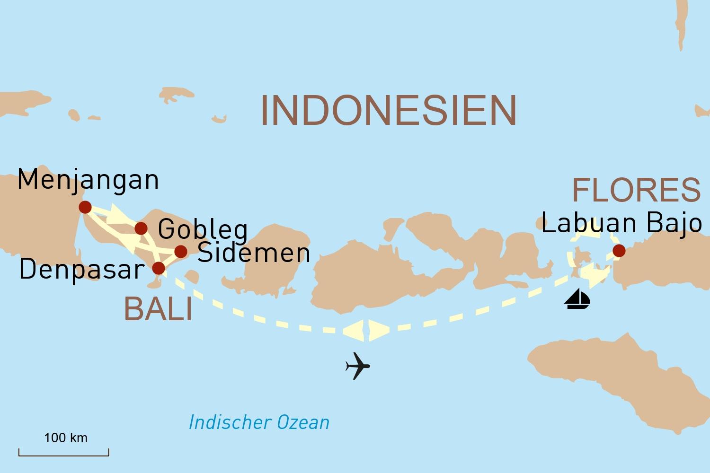 Göttliche Ruhe auf Bali und Flores