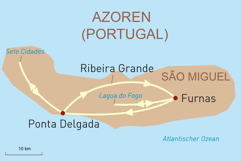 Azoren Reise - Grünes Naturparadies São Miguel