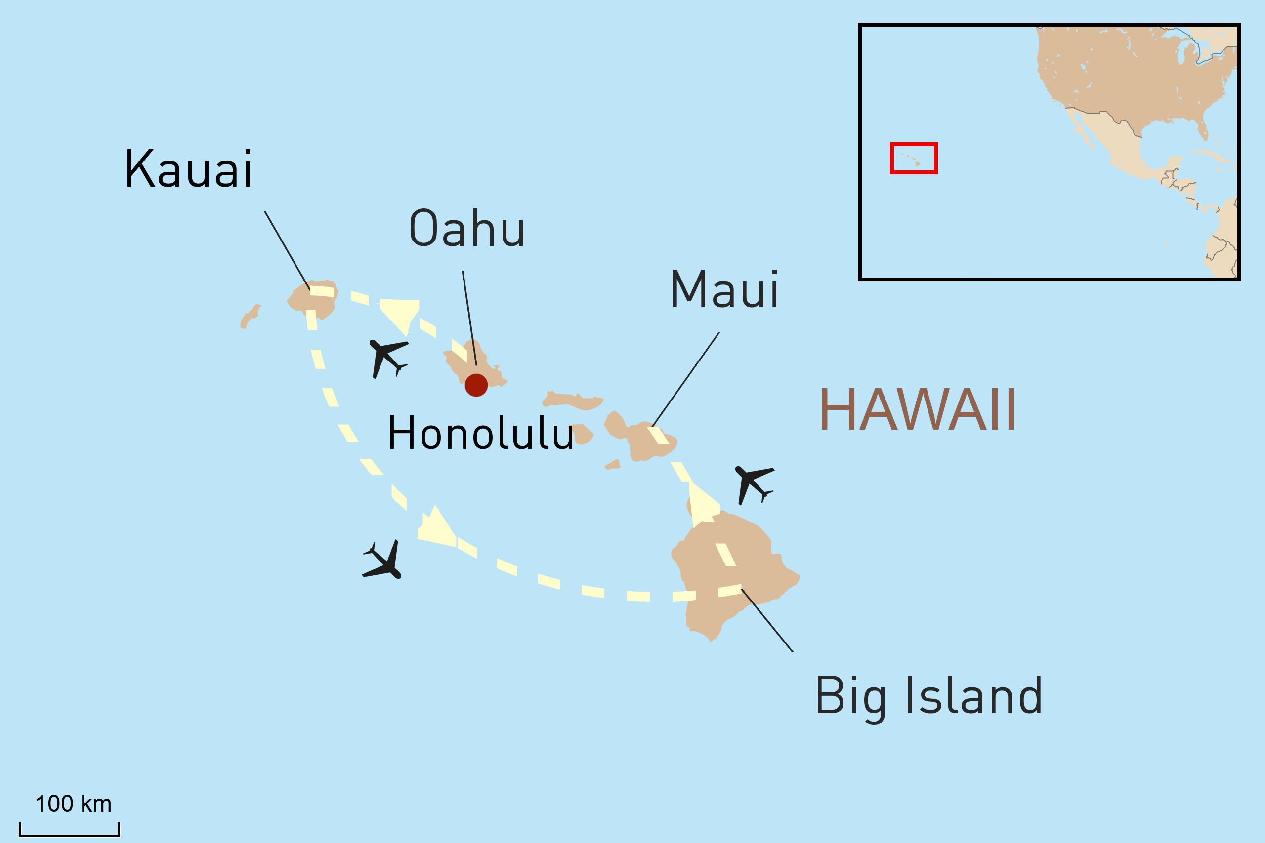 Inselhopping Hawaii