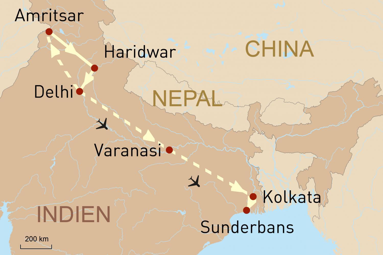 Heilige Mutter Ganga - Indiens Fluss des Lebens