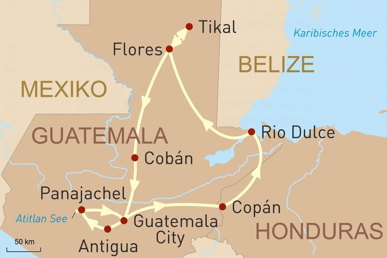 Höhepunkte Guatemalas