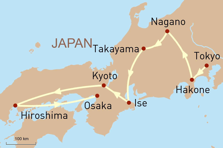 Japan Gruppenreise: Im Land der Geisha